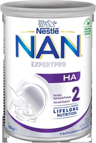 Nestlé Nan 800G Ha 2 Maitopohjainen Vieroitusvalmiste