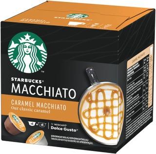 Starbucks Nescafé Dolce Gusto 12 Kaps/127,8G Caramel Macchiato Maitokahvikapseli