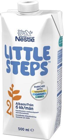 Nestlé Little Steps 2 500Ml Maitopohjainen Käyttövalmis Vieroitusvalmiste