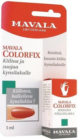 Mavala 5Ml Colorfix Akryylivahvisteinen Päällyslakka