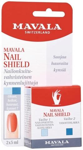 Mavala 2X5ml Nail Shield Kynnenkovettaja