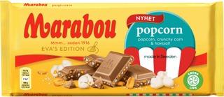 Marabou Popcorn Suklaalevy 185G
