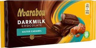 Marabou Darkmilk Salted Caramel Suklaalevy 85G