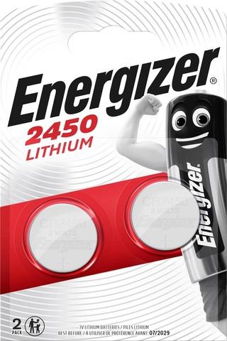 Energizer Nappiparisto Cr2450 Lithium 3V 2Kpl