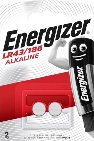 Energizer Nappiparisto Lr43/186 Alkali 1,5V 2Kpl