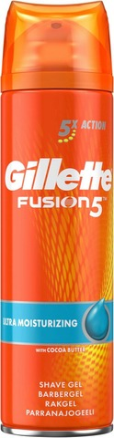 Gillette 200Ml Fusion5 Ultra Moisturizing Gel