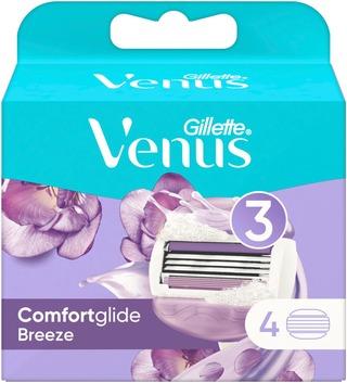 Gillette 4kpl Venus Comfortglide Breeze terä