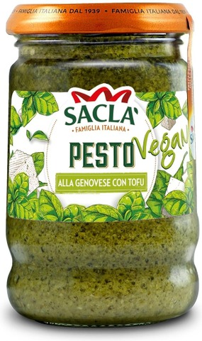Sacla 190G Free From Basilikapesto Tofulla