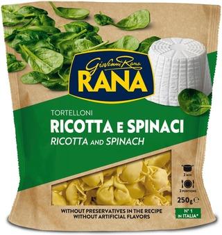 Rana 250g Tortelloni ricotta-juusto&pinaatti tuorepasta