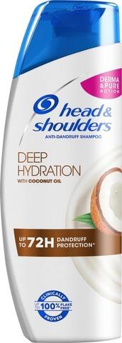 Head&Shoulders Shampoo Deep Hydration With Coconut Oil 250Ml