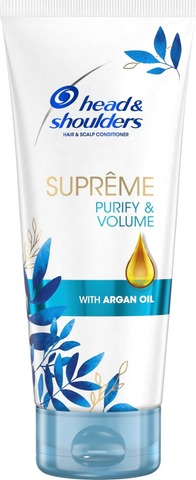 Head&Shoulders 220Ml Supreme Purify&Volume Hoitoaine