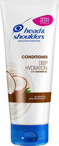 Head&Shoulders Hoitoaine Deep Hydration With Coconut Oil 220Ml