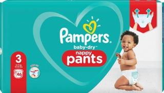 Pampers 46kpl Baby Dry Pants S3 6-11kg housuvaippa