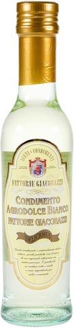 Fattorie Giacobazzi 250Ml Italialainen Balsamiviinietikka Valkoinen