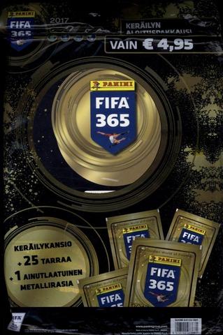 Panini Fifa 365 Keräilytarrat Aloituspakkaus