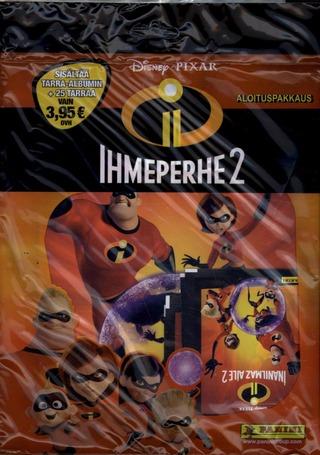 The Incredibles Keräilytarrat Aloituspakkaus
