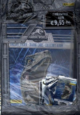 Jurassic World Keräilykortit Aloituspakkaus