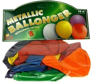 Ilmapallo Metallinhohtoinen 10Kpl