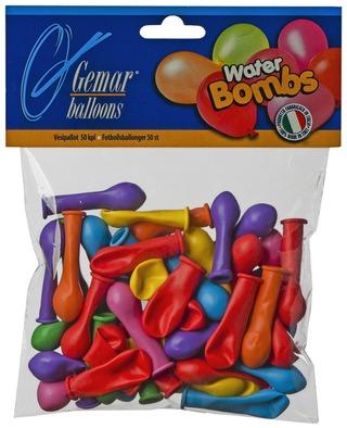 Gemar balloon vesi-ilmapallo 50kpl
