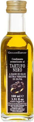 Giuliano 92g extra-neitsytoliiviöljy musta tryffeli