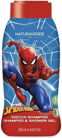Marvel 250Ml Shampoo Ja Suihkugeeli Spider-Man