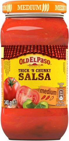 Old El Paso 340G Thick And Chunky Salsa Medium