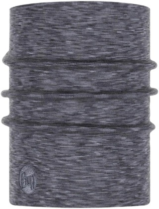 Buff Merinovillainen Tuubihuivi Hw Fog Grey Multi Strip 117821.952.10.00
