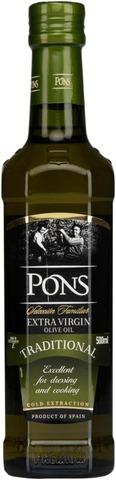 Pons extra virgin oliiviöljy
