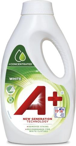 A+ 0.88L White Joutsenmerkki Pyykinpesuneste