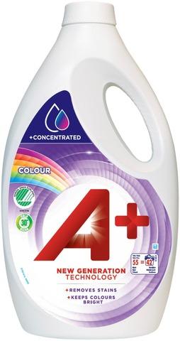 A+ 2200Ml Color Joutsenmerkki Pyykinpesuneste