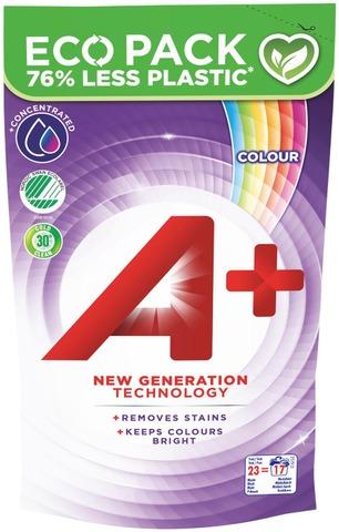 A+ 920Ml Color Pyykinpesuneste Täyttöpakkaus