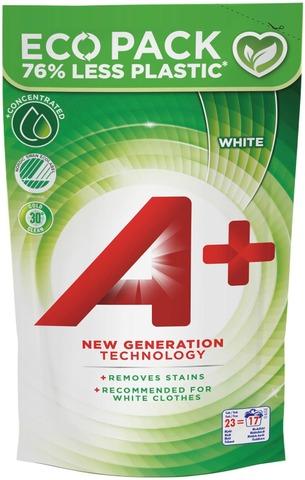 A+ 920Ml White Pyykinpesuneste Täyttöpakkaus