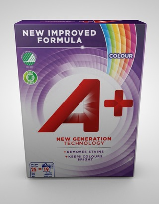 A+ 833G Color Pyykinpesujauhe