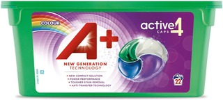 A+ 22Kpl Color Active4 Caps Nestemäinen Pyykinpesutabletti