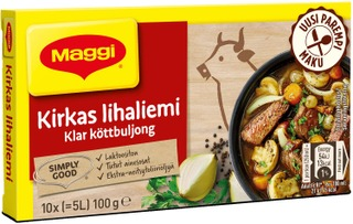 Maggi Kirkas Lihaliemi Liemikuutio 10Kpl/100G