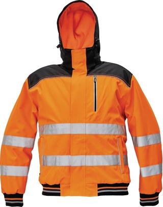 Cerva KNOXFIELD Hi-Vis pilotti talvityötakki oranssi