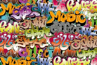 Fototapetti Graffiti Art Ms-5-0322 3,75M X 2,5M