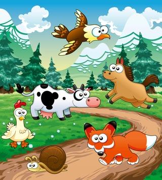 Fototapetti Animals Ms-3-0340 2,25 X 2,5M