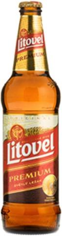 Litovel Premium 5% 0,5L Olutpullo