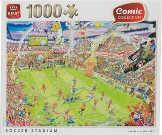 Soccer Stadium 1000 Kpl Palapeli