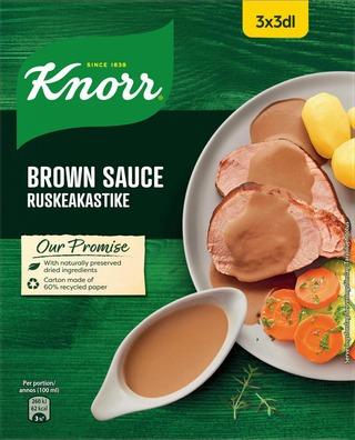 Knorr Kastikeaines Ruskeakastike 3X22g