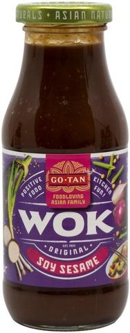 Go-Tan Soy Sesame Wok-Kastike 240Ml