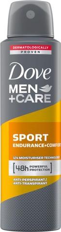 Dove Men+Care Ap Spray Sport Endurance + Comfort 150Ml