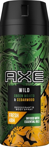 Axe Deo Spray Mojito + Cedarwood 150 ML