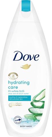 Dove Suihkusaippua Hydrating Care 225 Ml