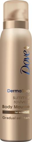 Dove Tanning Mousse 150Ml Fair To Medium 150 Ml