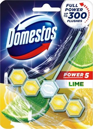 Domestos Wc-Raikastin Power 5 Lime 1 Kpl