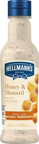 Hellmann's 210 ml Salaattikastike Honey & Mustard