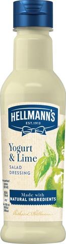Hellmann's 210 ml Salaattikastike Yoghurt & Lime