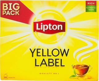 Lipton 150Ps Yellow Label Musta Tee